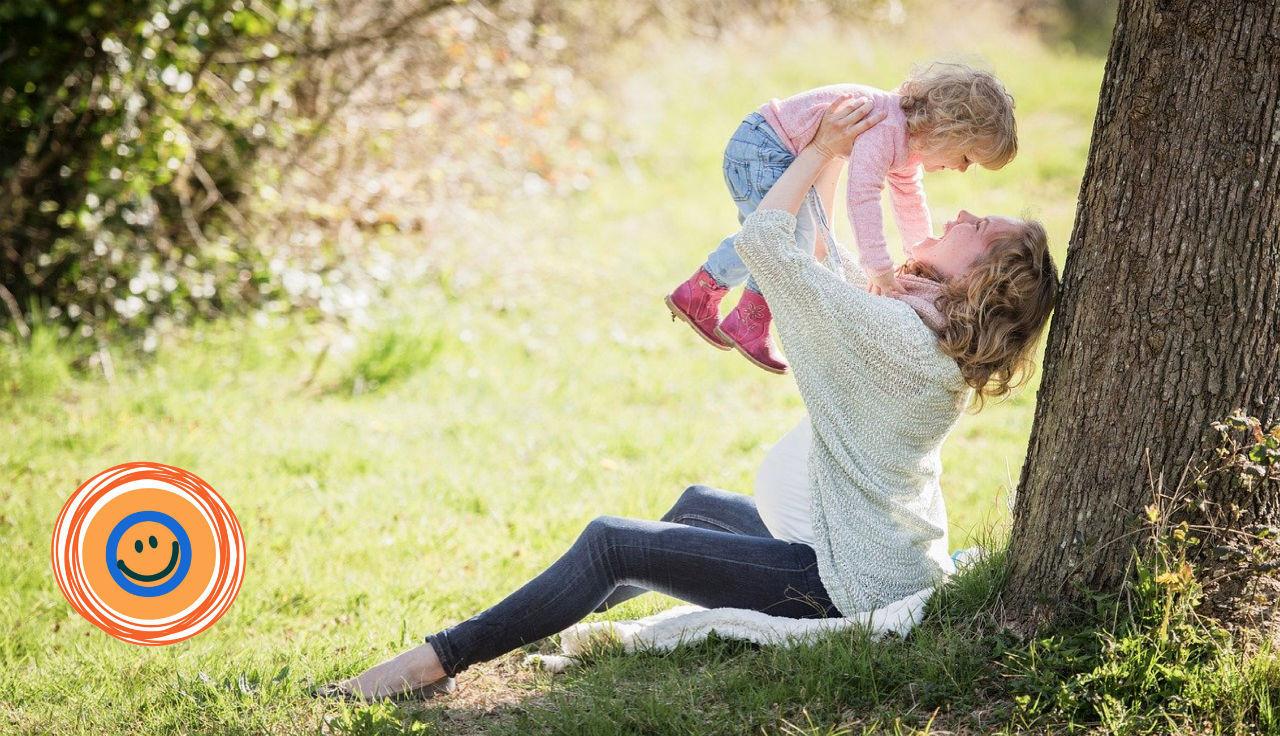 moeder en kind met goede hechting