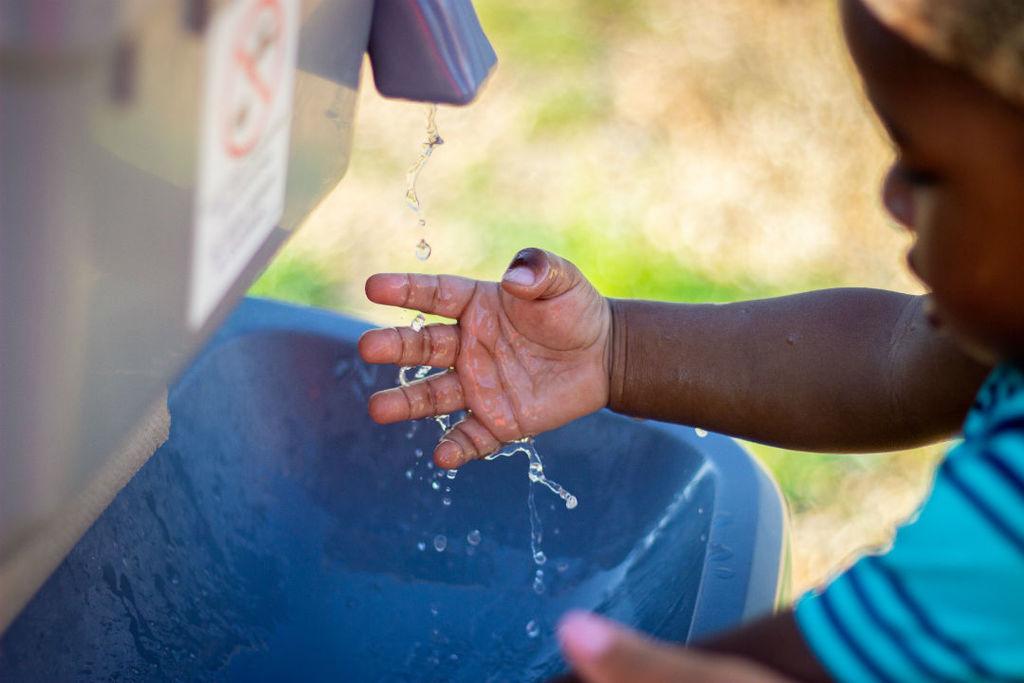 het wassen van de handen beschermt je tegen ziektes