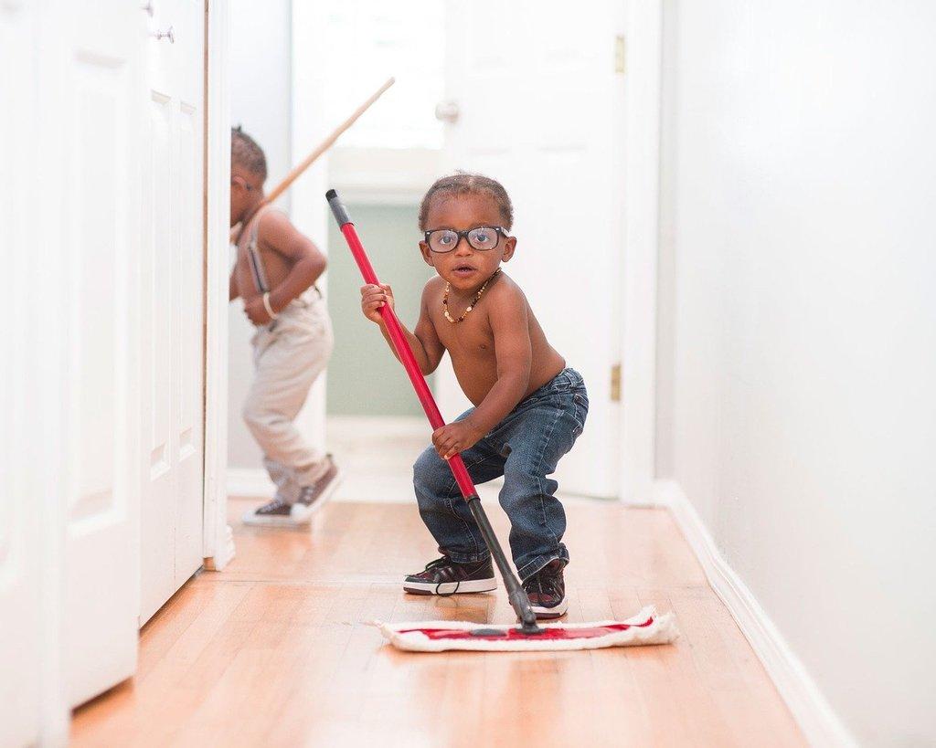Alle ruimtes waarin het kind zich bevindt moeten lekker fris zijn en vooral niet vies